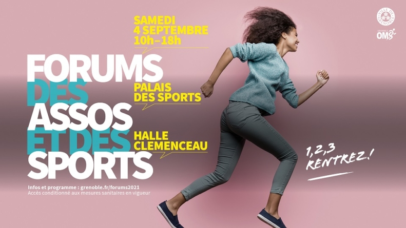 [Grenoble] Le Forum des Sports aura lieu le samedi 4 septembre