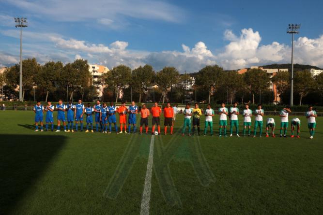 FC Echirolles : le groupe contre Bourg-Péronnas B